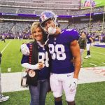 Evan Engram's Mom Michelle Zelina- Instagram