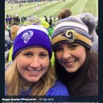 Greg Zuerlein's wife Megan Zuerlein - Twitter