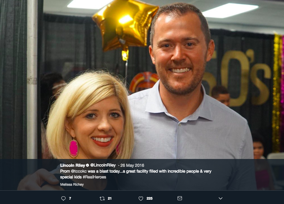 Lincoln Riley's Wife Caitlin Riley