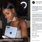 Is Victor Oladipo's Girlfriend Bria Myles?-Instagram