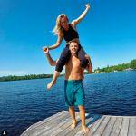 Jamie Anderson's Boyfriend Tyler Nicholson -Instagram