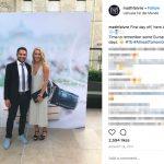 Mikaela Shiffrin's Boyfriend Mathieu Faivre -Instagram