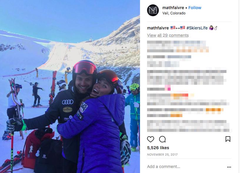 Mikaela Shiffrin's Boyfriend Mathieu Faivre