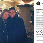 Mikaela Shiffrin's Boyfriend Mathieu Faivre - Instagram