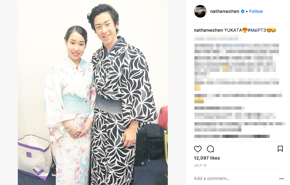 Who is Nathan Chen's Girlfriend?