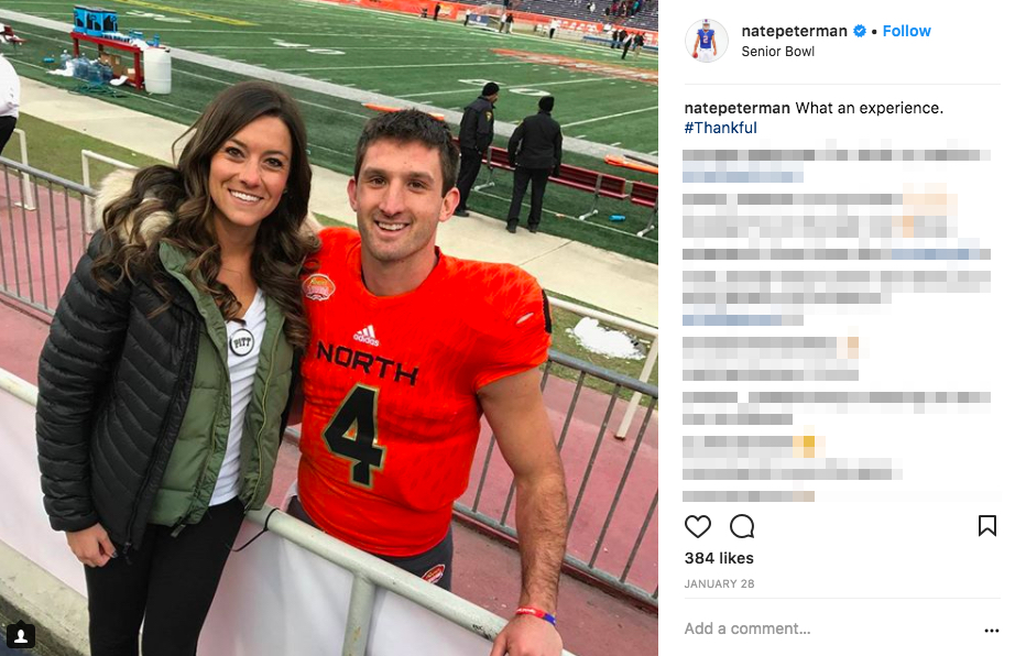 Nathan Peterman's Wife Morgan Peterman
