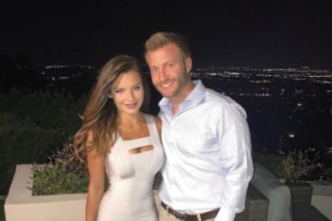 Sean McVay's Girlfriend Veronika Khomyn - Facebook