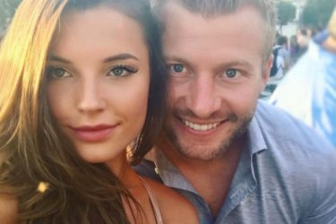 Sean McVay's Girlfriend Veronika Khomyn - Instagram