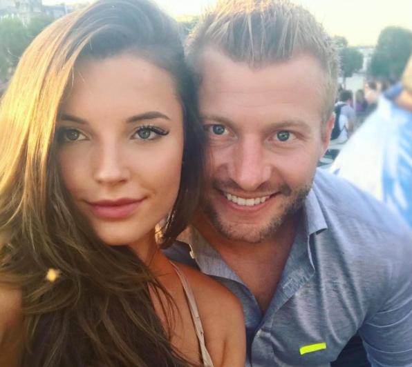 Sean McVay's Girlfriend Veronika Khomyn