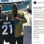 AJ Bouye's father - Instagram