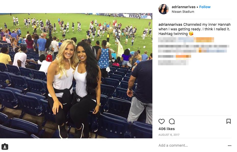 Derrick Henry's Girlfriend Adrianna Rivas