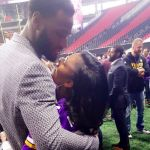 Latavius Murray's girlfriend