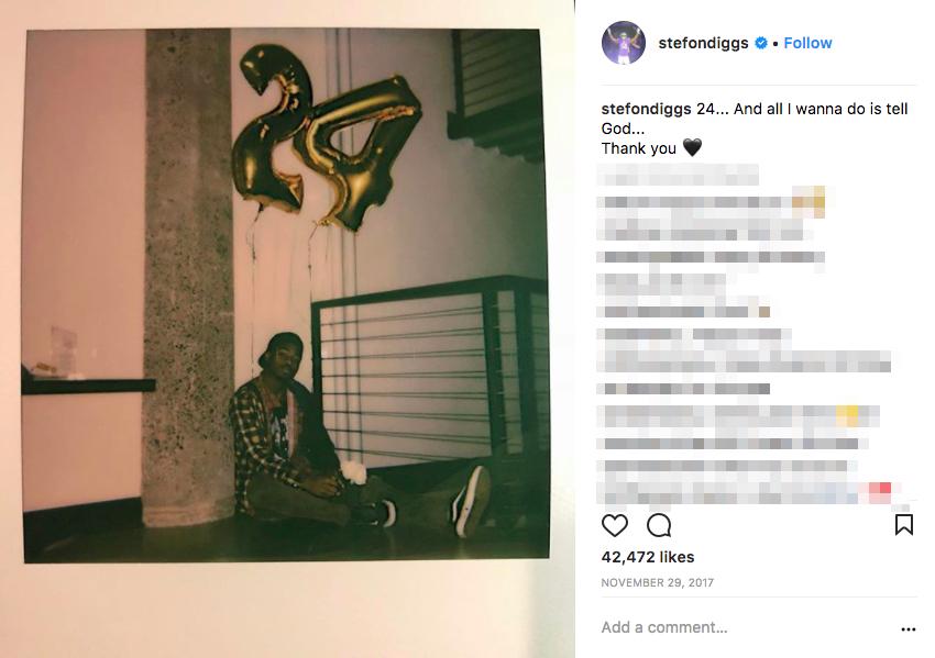 Who is Stefon Diggs Girlfriend? (UPDATE 2020)