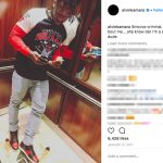 Who is Alvin Kamara's girlfriend? - Instagram