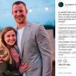 Carson Wentz's wife Maddie Oberg - Instagram