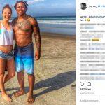 Corey Clement's girlfriend Micaela Powers-Instagram