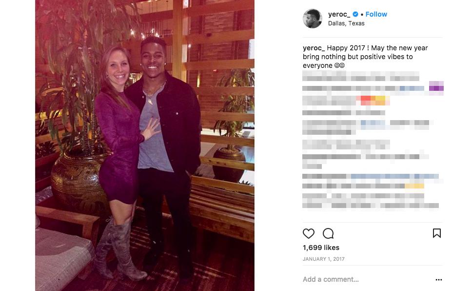 Corey Clements Girlfriend Micaela Powers