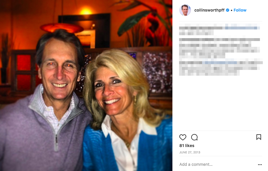 Cris Collinsworth's Wife Holly Collinsworth