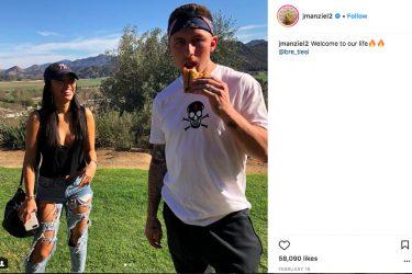 Johnny Manziel's wife Bre Manziel - Instagram