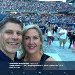 Porter Moser 's wife Megan Moser- Twitter @PorterMoser