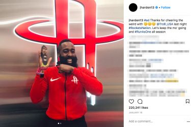 James Harden Girlfriend History - Instagram