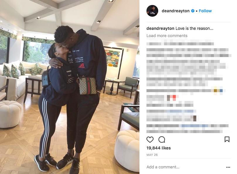 DeAndre Ayton's Girlfriend Anissa Evans