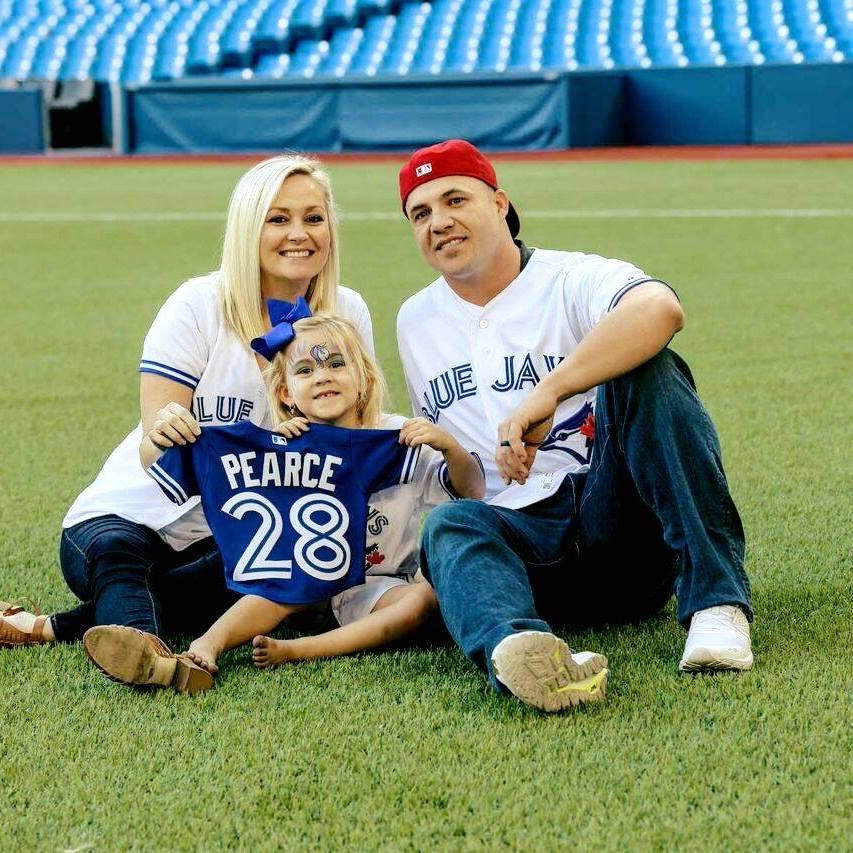 Steve Pearce's wife Jessica Pearce