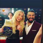Charlotte Flair's boyfriend Andrade Cien Almas- Instagram