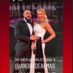 Charlotte Flair's boyfriend Andrade Cien Almas-Instagram