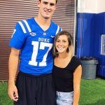 Daniel Jones' girlfriend Ella Bonafede - Twitter