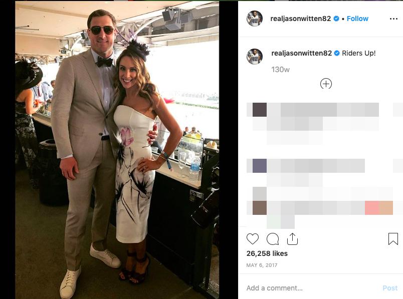 Jason Witten's wife Michelle Witten
