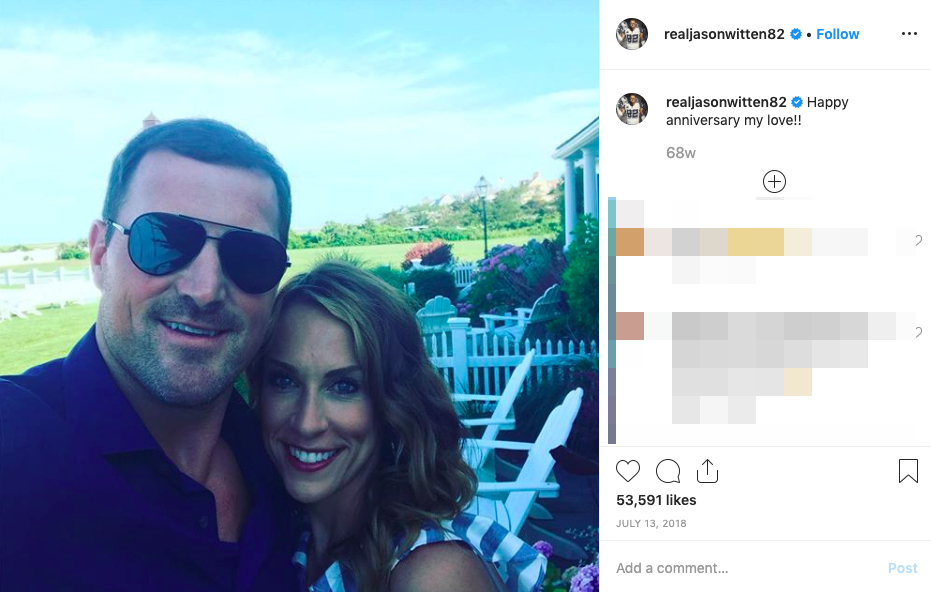 Jason Witten's wife Michelle Witten