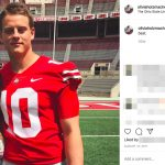 Joe Burrow's girlfriend Olivia Holzmacher -Instagram (@oliviaholzmacher)
