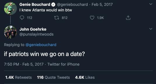 Mason Rudolph's girlfriend Genie Bouchard