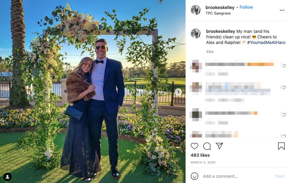 Cameron Brate's wife Brooke Skelley